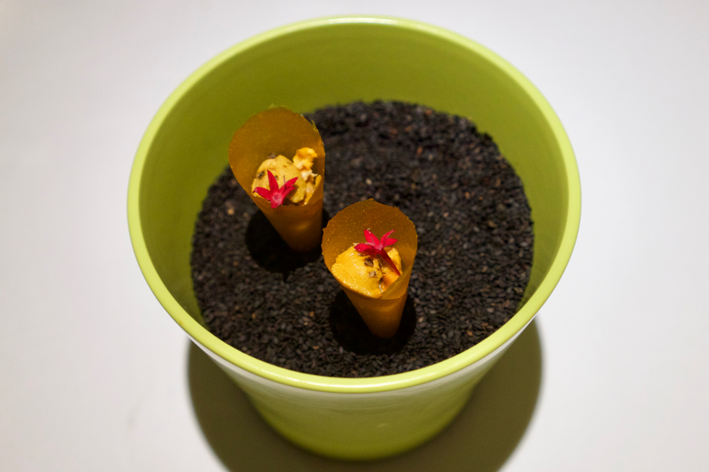 Gaggan - Mango and Uni