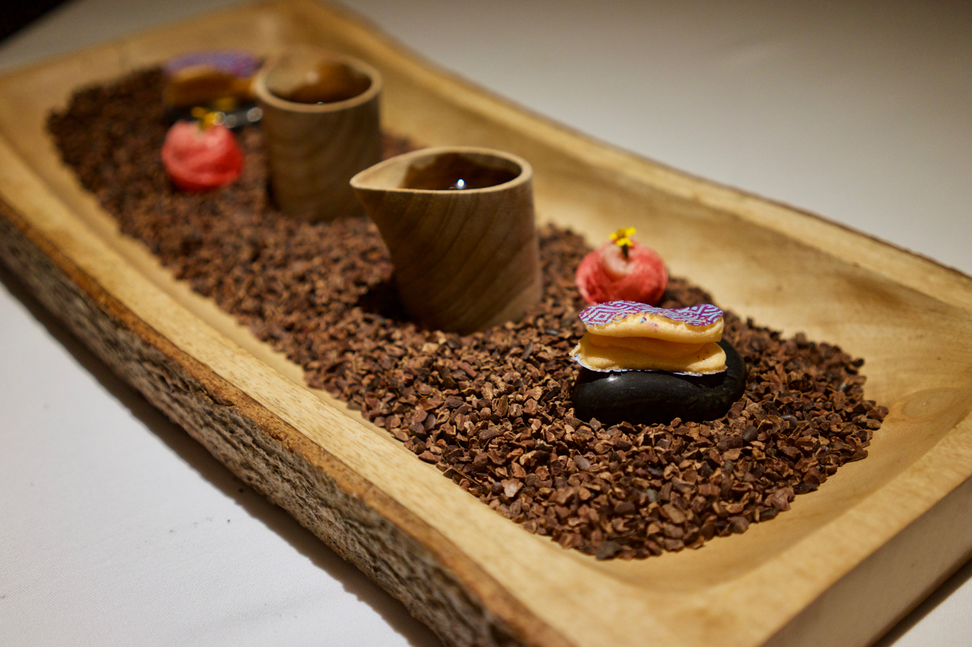 Gaggan - Sandalwood Tea