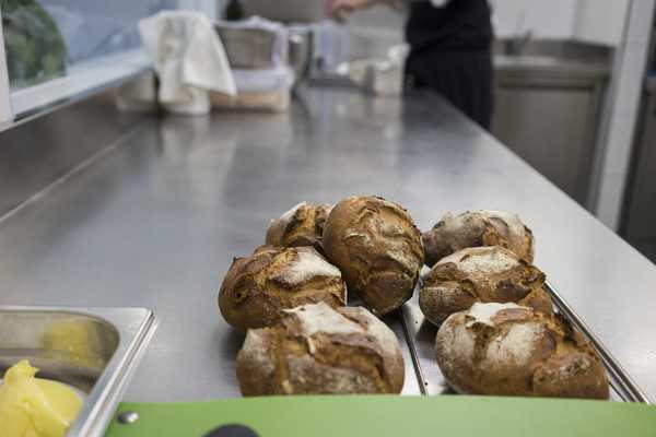 Bread waiing on the pass