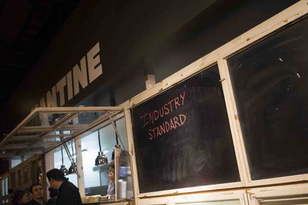 The Kantine guest take overs from some of Berlin best restaurants, tonight it's Industry Standard