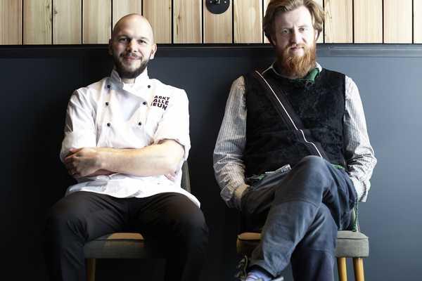 Chefx5: Billy Wagner and Micha Schäfer; Nobelhart & Schmutzig