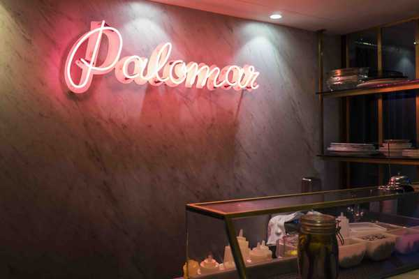 The Palomar raw bar