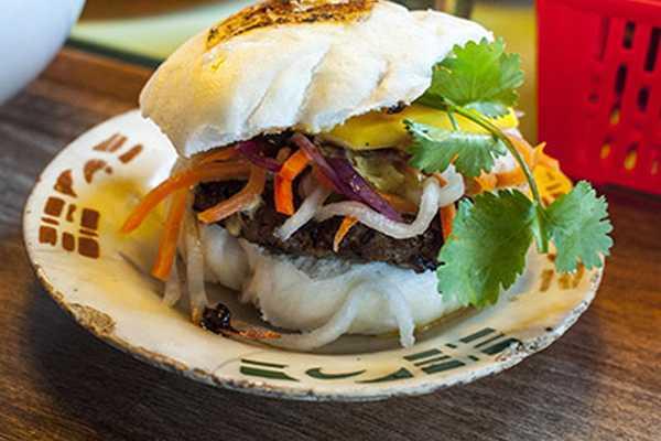 The award winning burger bao