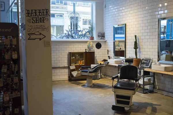 There is even an in-house barber for a quick trim