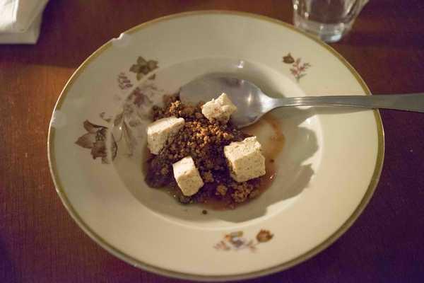 Dessert at Bror