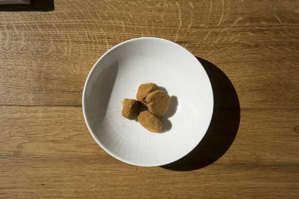 Chocolate truffles to finish