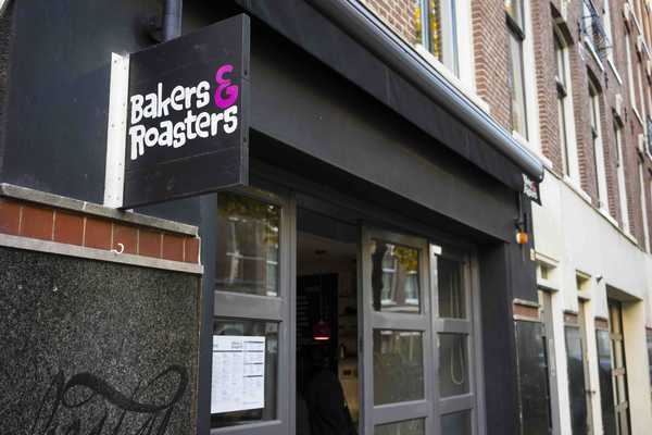 Bakers and Roasters shop front
