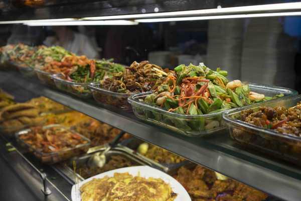 Nasi Padang buffet